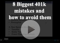 401k mistakes