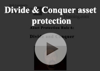 Divide Conquer asset protection