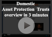 domestic asset protection trust