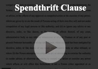 Spendthrift Clause
