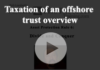 Taxation offshore trust overview