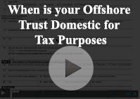 Trust Domestic Tax Purposes