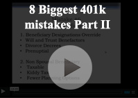 8 biggest 401k mistakes