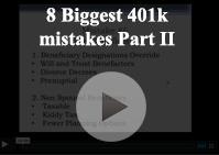 8 biggest 401k mistakes