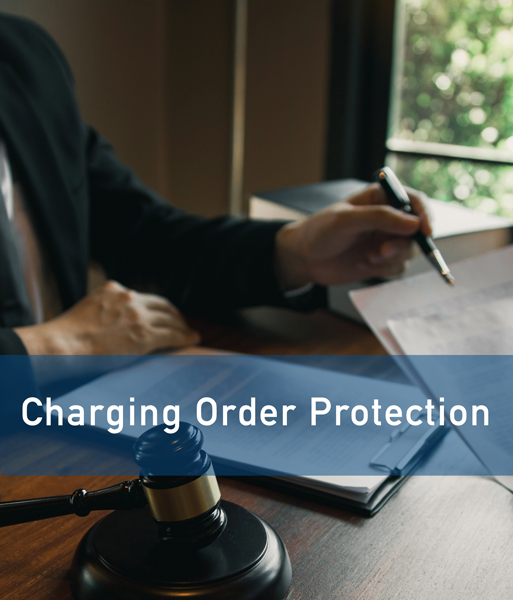 charging order protection llc asset protection